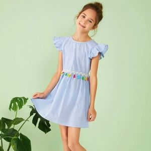 Dress for little girl Size 7Y New